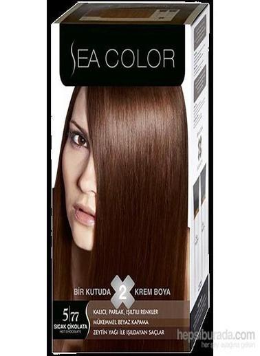 Sea Sea Color 2 Li Saç Boyası 5-77 Kahve